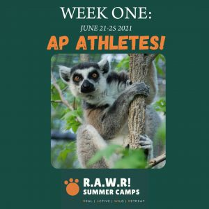 WEEK ONE_ AP ATHLETES!